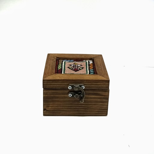 باکس تلفیق چوب و گلیم شیرکی پیچ سیرجان دستساز- باسلام
