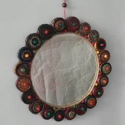 آیینه تزئینی شیک 30 سانت