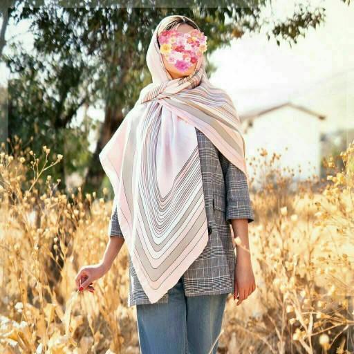 روسری نخی جناغی پاییزه- باسلام