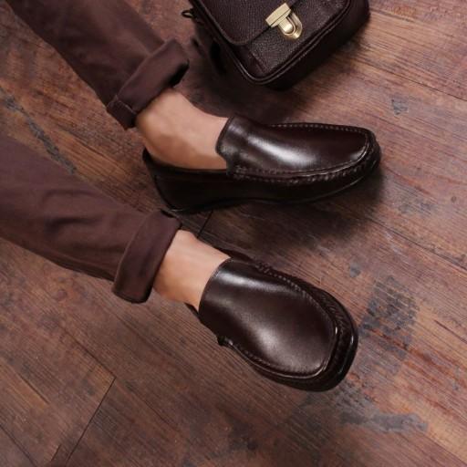 کفش چرمی مردانه کالج مدل فیلا- باسلام