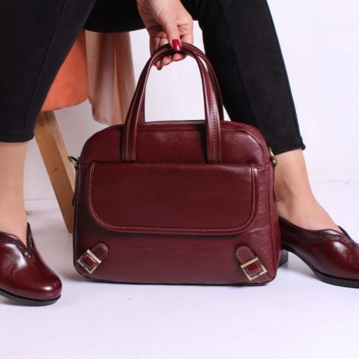 کیف چرمی زنانه مدل کولاک- باسلام