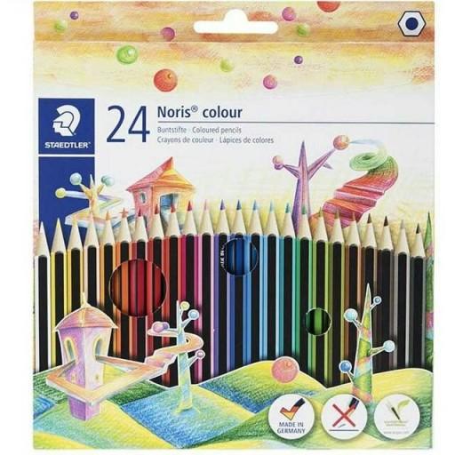 مداد رنگی حرفه ابی24رنگ استدلر- باسلام