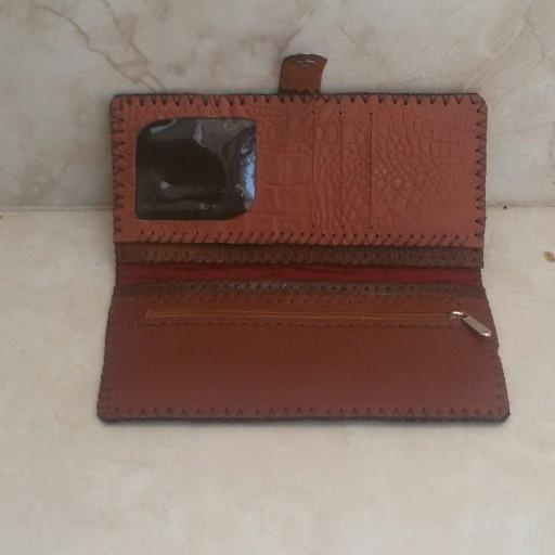 کیف پول چرم چهل تیکه- باسلام