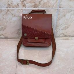 کیف دوشی پیاده روی چرم