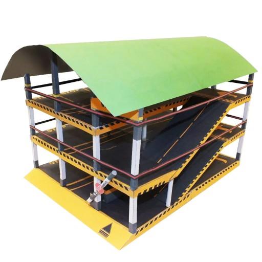 کیت ساخت ماکت پارکینگ طبقاتی به گنجایش 12 ماشین- باسلام