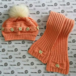 شال و کلاه دستباف دومیل