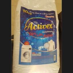 پودر ماشین لباسشویی ده کیلویی اکتیوکس Activex بارفروش