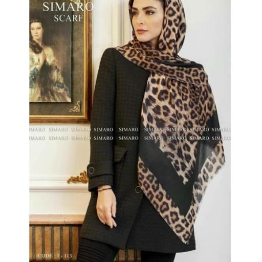روسری حریر سیمارو طرح رویایی- باسلام