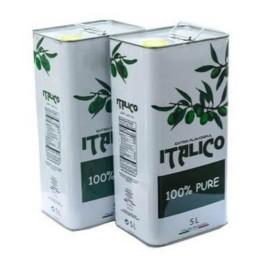8 عدد روغن زیتون 5لیتری ایتالیکو بکر (8تایی) فقط 1 میلیون 900 با ارسال رایگان از