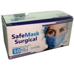 ماسک 3 لایه پرستاری 50 عددی (تضمین کیفیت)