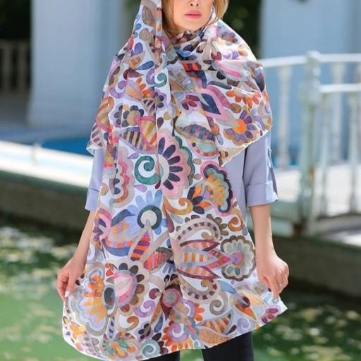 حراااااااااااج پاییزی شال نخی درجه یک 🥳😍🤩😍 (ورق بزنید😉😘)- باسلام