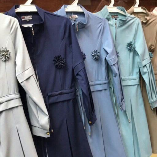 مانتو خنک بسیار با کیفیت مناسب بهار و تابستان- باسلام