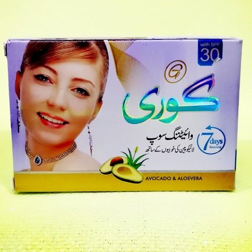 صابون سفیدکننده و روشن کننده صورت گوری اصلی- باسلام