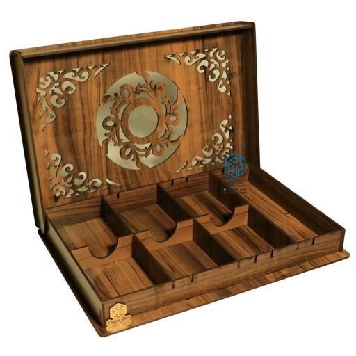 جعبه پذیرایی صدرا باکس مدل مرمر کد SB133marmar- باسلام