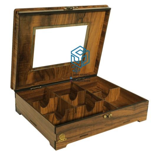 جعبه پذیرایی صدراباکس مدل مینا کد SB-126mix- باسلام