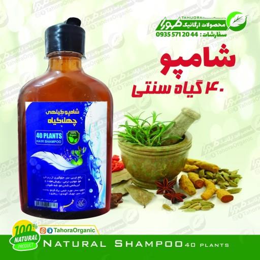 شامپو 40 گیاه (100درصد طبیعی) - باسلام