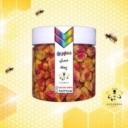 معجون عسل پسته درشت(تضمین کیفیت-350 گرم)