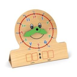 ساعت آموزشی وایت بردی