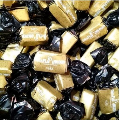 شکلات تلخ یک کیلوگرمی مخصوص پذیرایی مامان جون ( دوسر پیچ )- باسلام