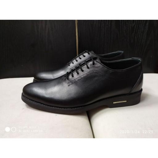 کفش مردانه  چرم طبیعی گواشیرتخفیف زمستانه طرح کلاسیک المان- باسلام