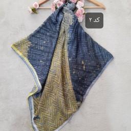 روسری و شال نخی رنگ سال