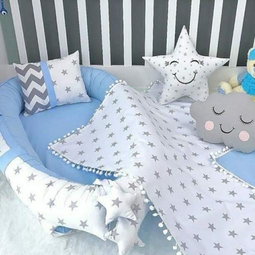 سرویس سیسمونی نوزاد تشک گارد دار و یه کوسن ملحفه- باسلام