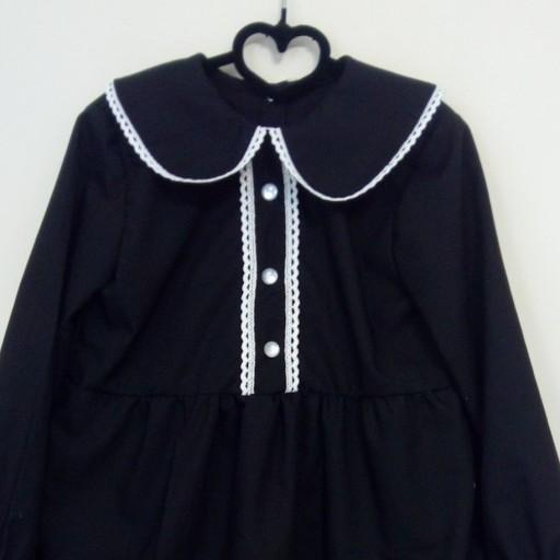 پیراهن دخترانه مشکی محرمی- باسلام