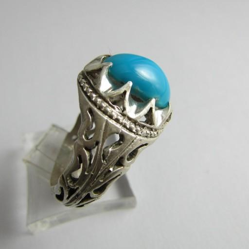 انگشتر فیروزه a212- باسلام