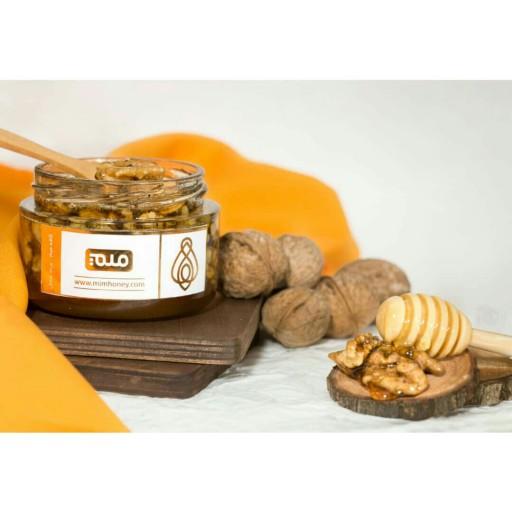 معجون عسل و گردو کافه عسل میم (خرد شده) - باسلام