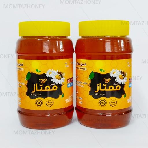 عسل طبیعی آویشن - 1000 گرمی- باسلام