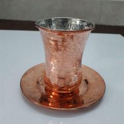 استکان نعلبکی مسی زنجانیها
