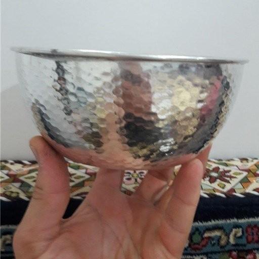 کاسه آبگوشت خوری مسی قلع شده زنجان - باسلام