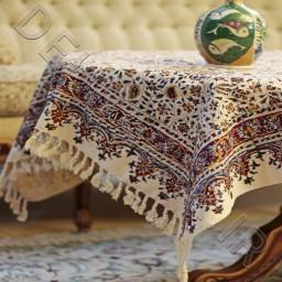 سفره قلمکاری هنر دست هنرمندان  اصفهانی