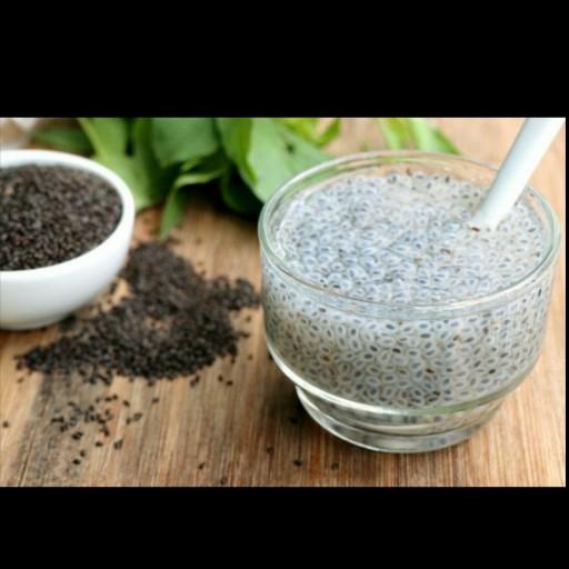 تخم ریحان(تخم شربتی درشت)- باسلام
