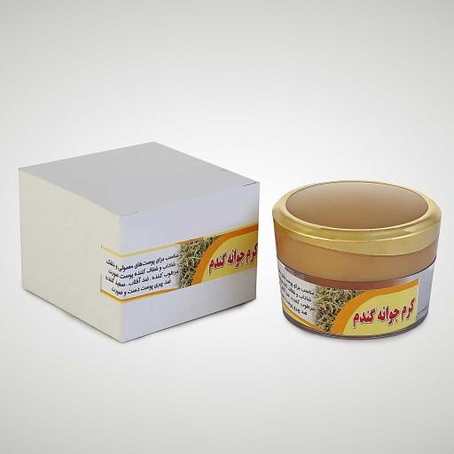 کرم جوانه گندم ممتاز فدک (ضدآفتاب طبیعی)- باسلام