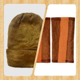 زانوبند و کلاه پشم شتر آقای عطار